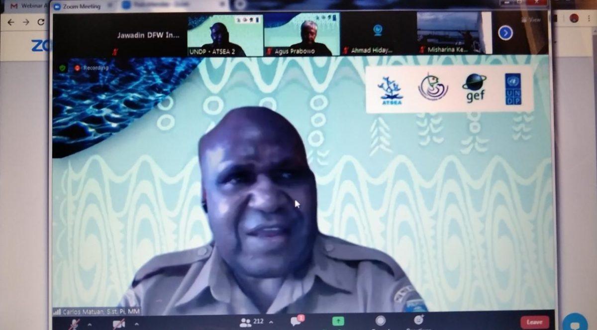 Sekretaris Dinas Kelautan dan Perikanan Provinsi Papua